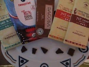 Chocoalte taste-test