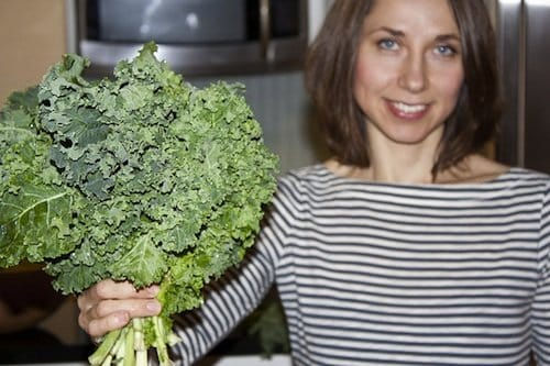 Massaged kale recipe with variations