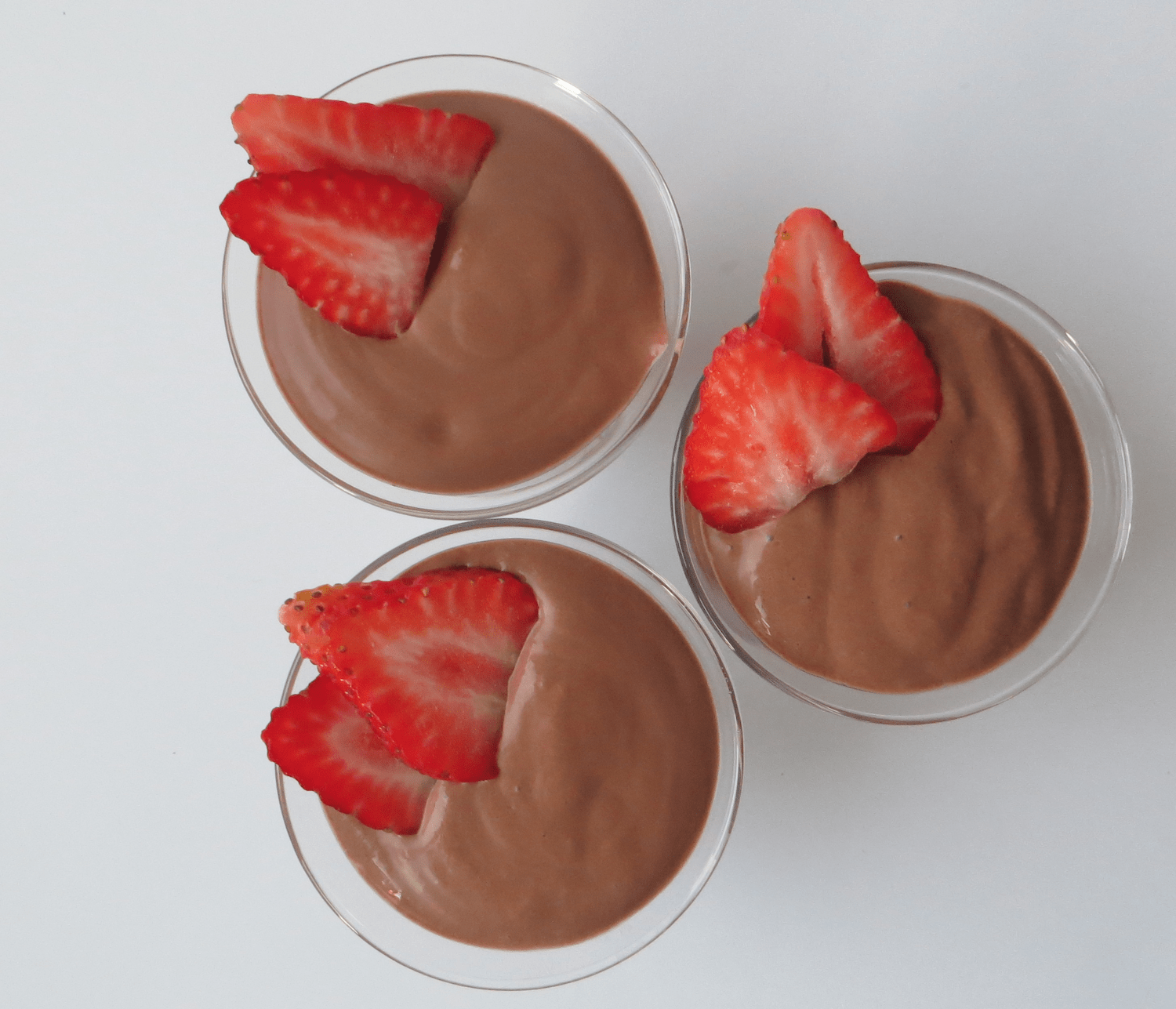 5 minute chocolate soy mousse