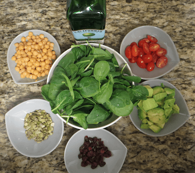 Salad bars – fun and easy way to start a meal