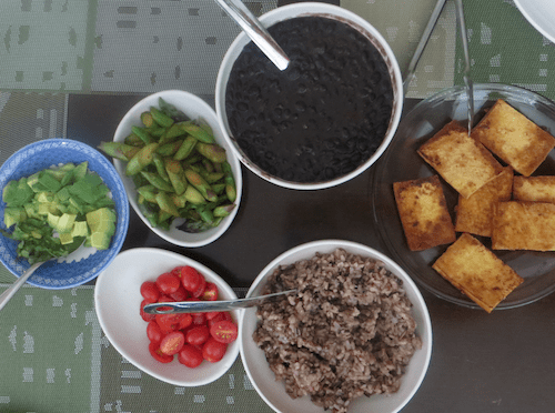 Rice and beans dinner_500