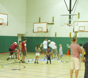 Tennis clinic small