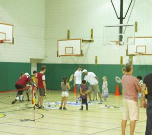 Tennis clinic small