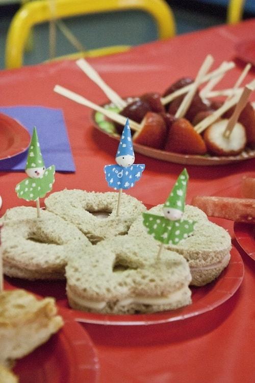 DIY birthday party food