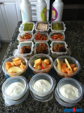 Making school lunches – How to get the kids on school lunch duty