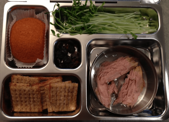 Ronnie's lunchbox
