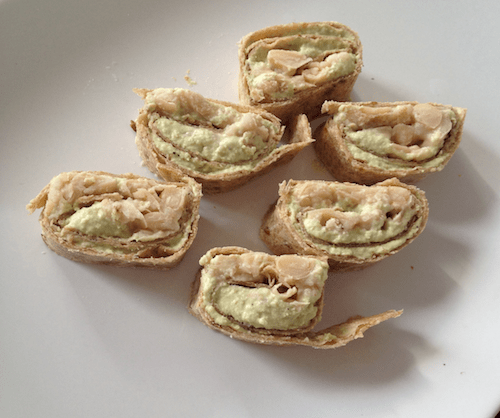 Homemade snacks: easy protein wheels