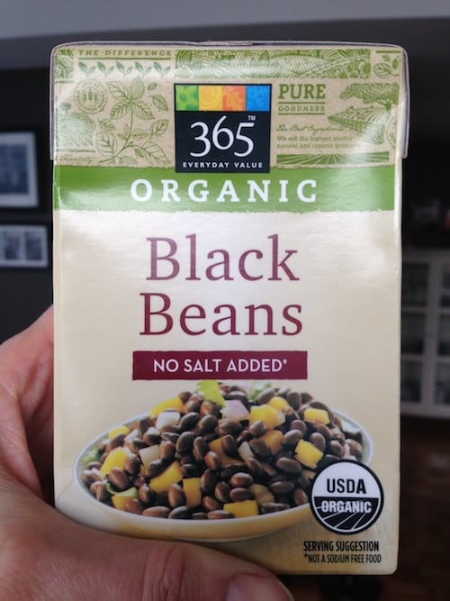 Beans in tetrapack 500
