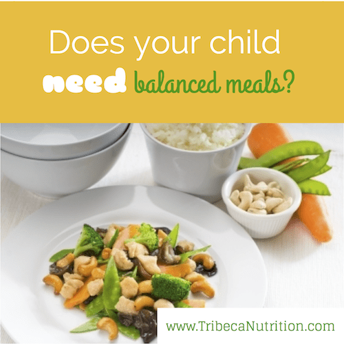 Does your child need balanced meals?