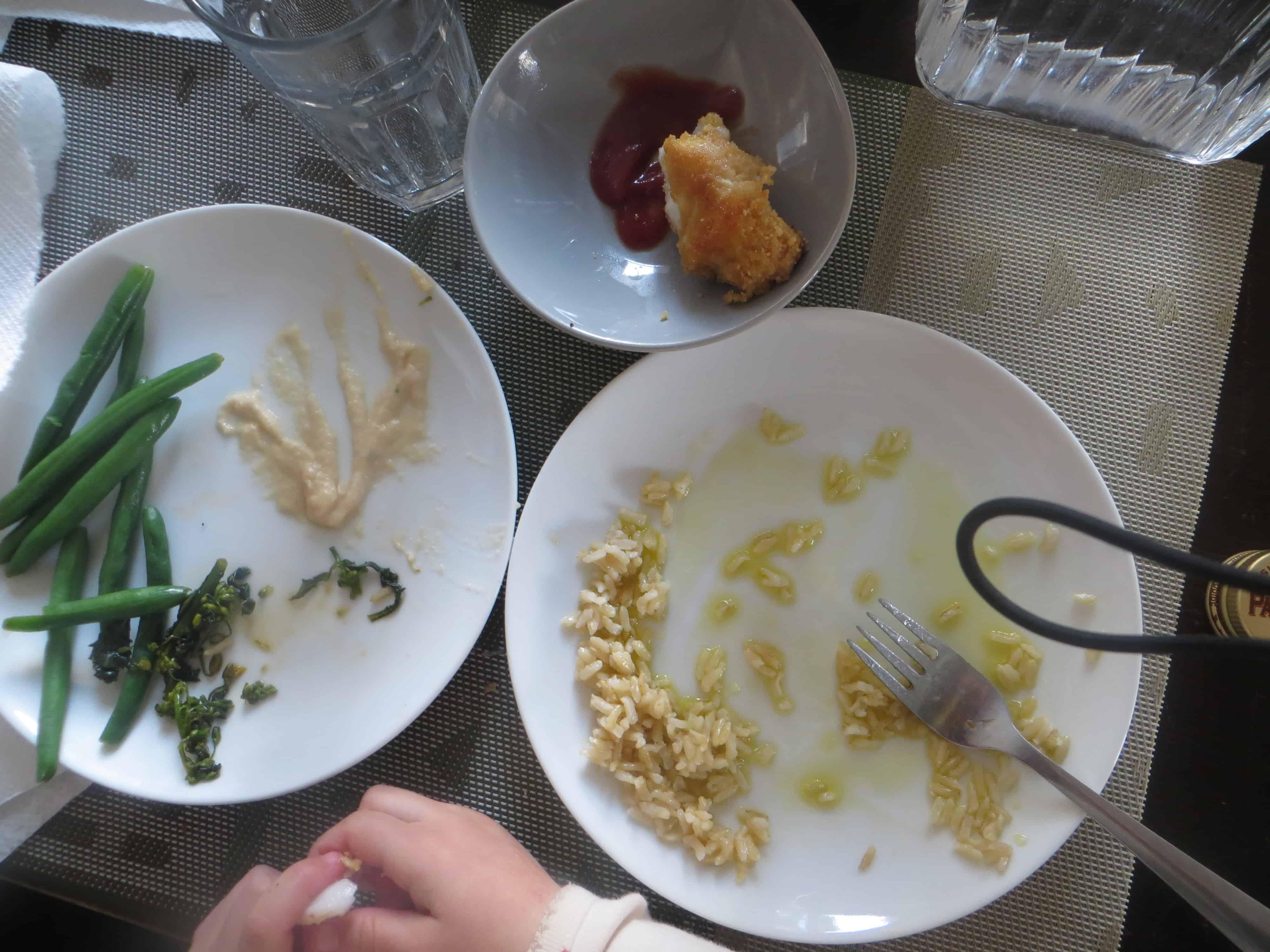 Sofia's plate