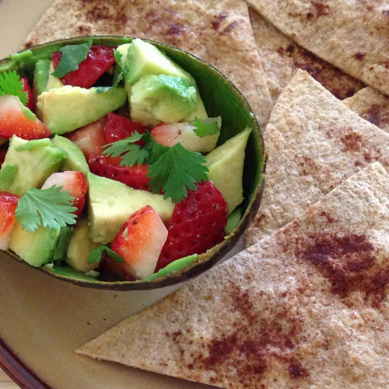 Dips for kids: Strawberry Avocado Salsa and Black Bean Dip ...