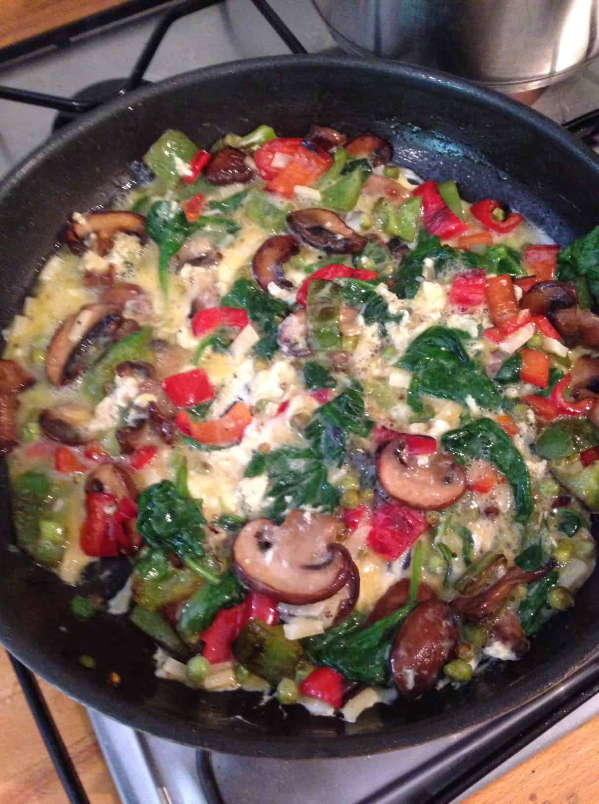 Family friendly meal – basic frittata recipe