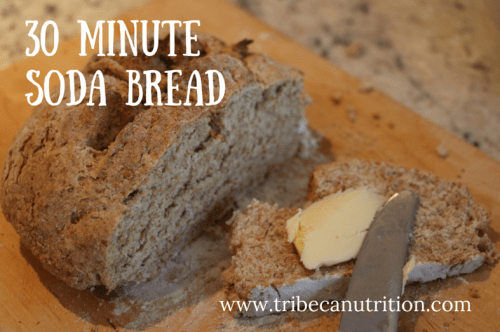 30 minute soda bread recipe