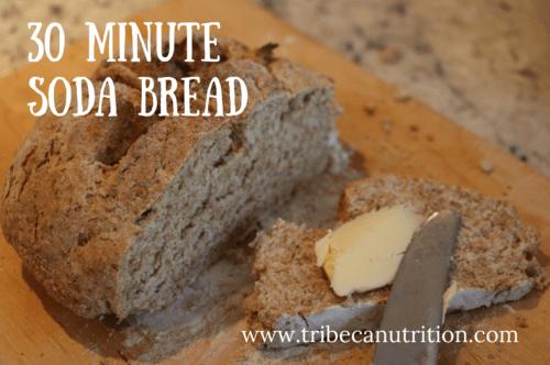 30 minute soda bread recipe