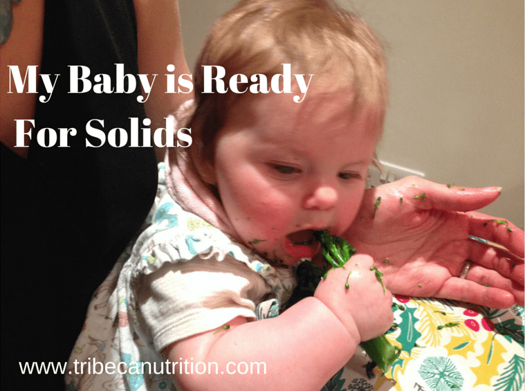 Is your baby ready for solids