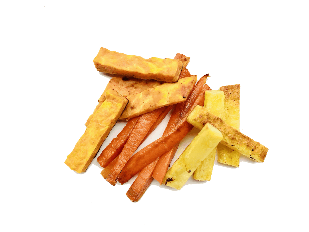 Roasted vegetables - finger foods for a 6 month old