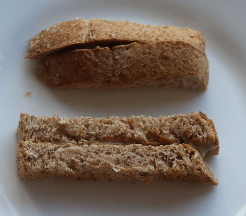 toast - finger foods for a 6-month-old