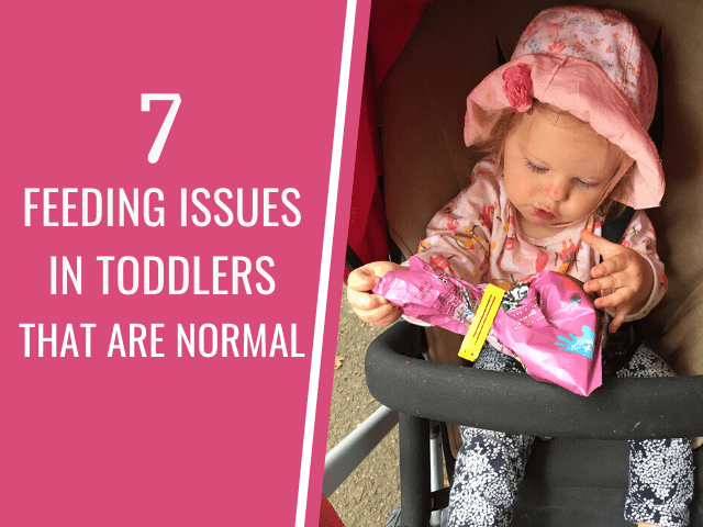 Seven feeding problems in toddlers that are normal