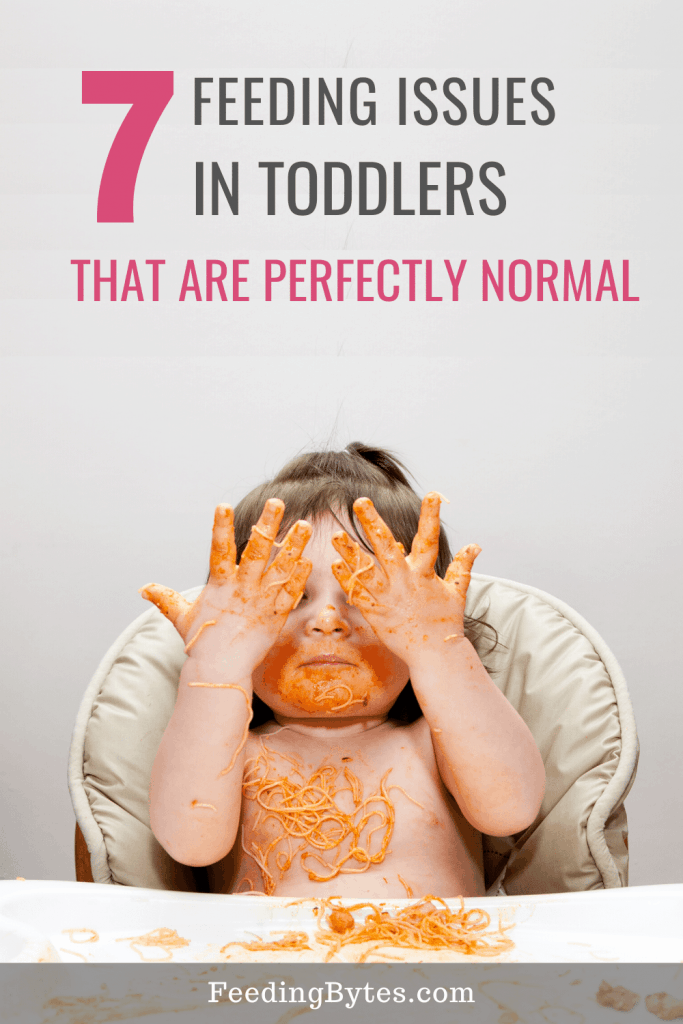 7 feeding issues in toddlers that are normal