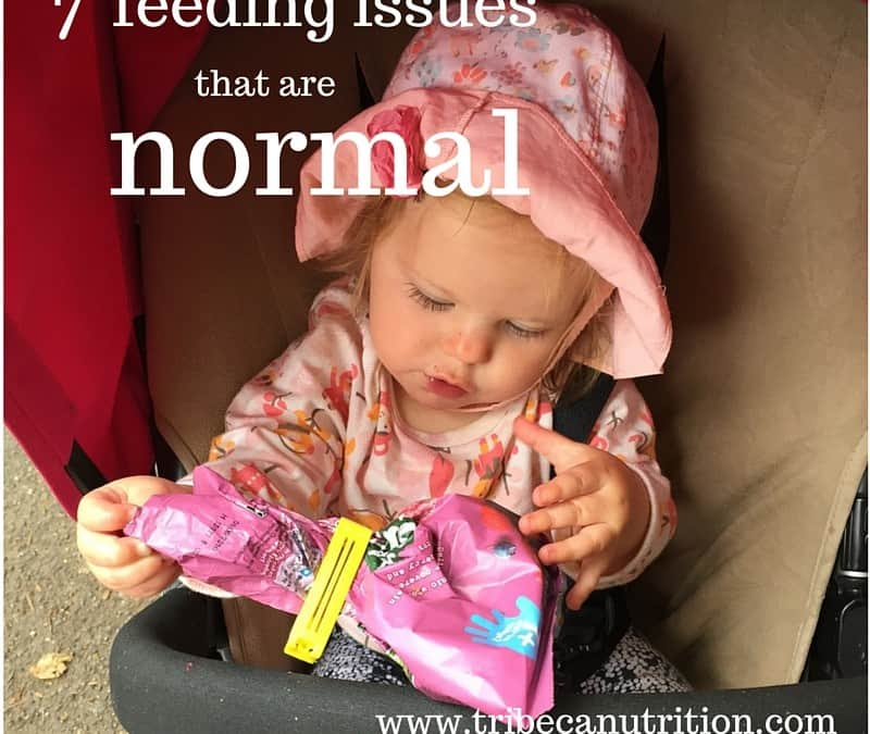 7 feeding issues that are normal