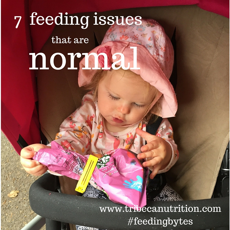 7 feeding issues that are normal phases for babies
