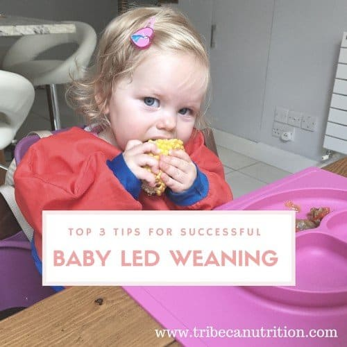 Top 3 tips for successfulBaby Led Weaning copy