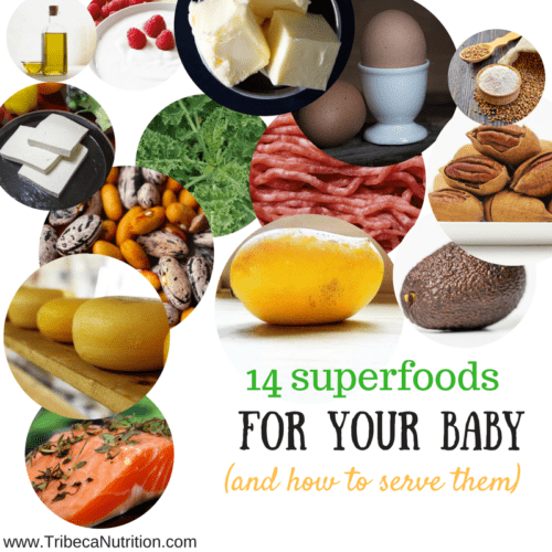 14 superfoods for your baby
