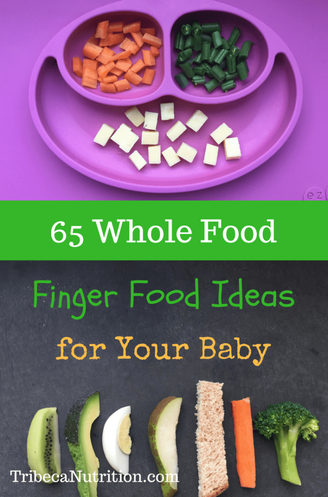 Homemade finger foods for babies and toddlers