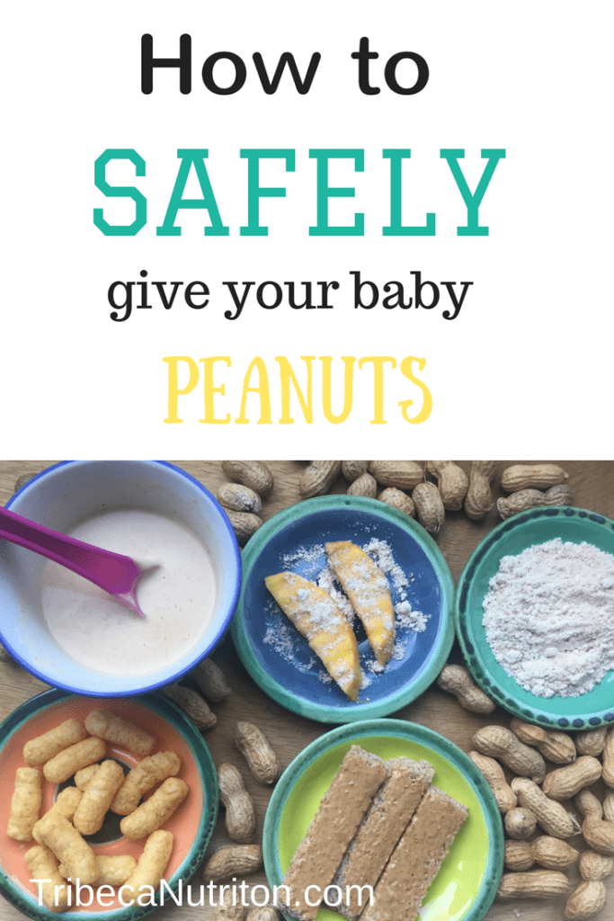 How to safely introduce peanuts to your baby