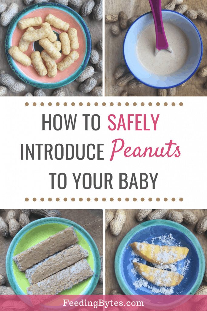 how to safely introduce peanuts to baby - starting solids for baby