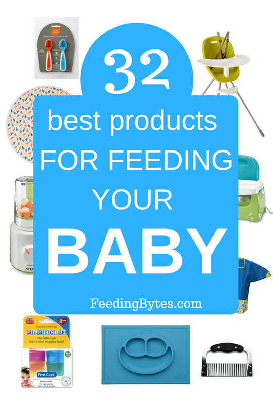 Best baby feeding products as recommended by a pediatric dietitian and mom of 3