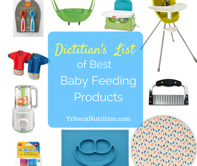 Dietitian's list of best baby feeding products