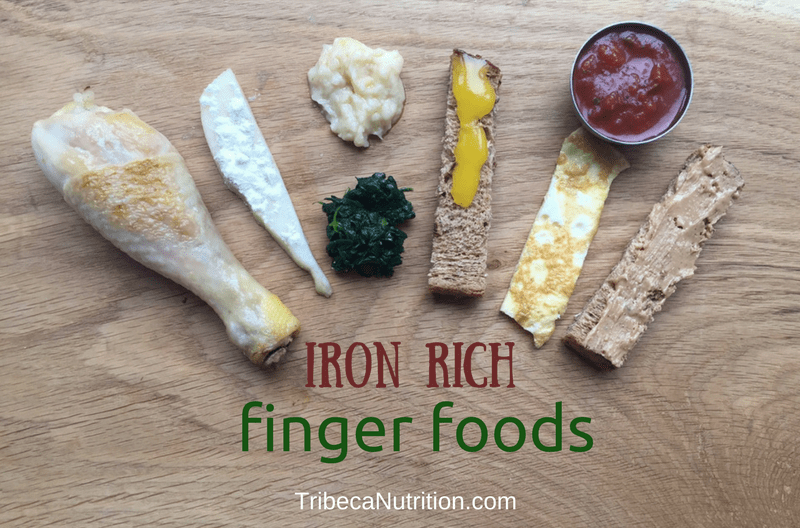 Iron Rich Finger Foods for Your Baby