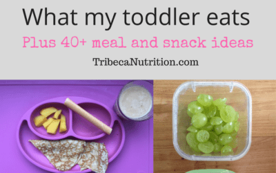 What my toddler eats (plus 40+ meal ideas)