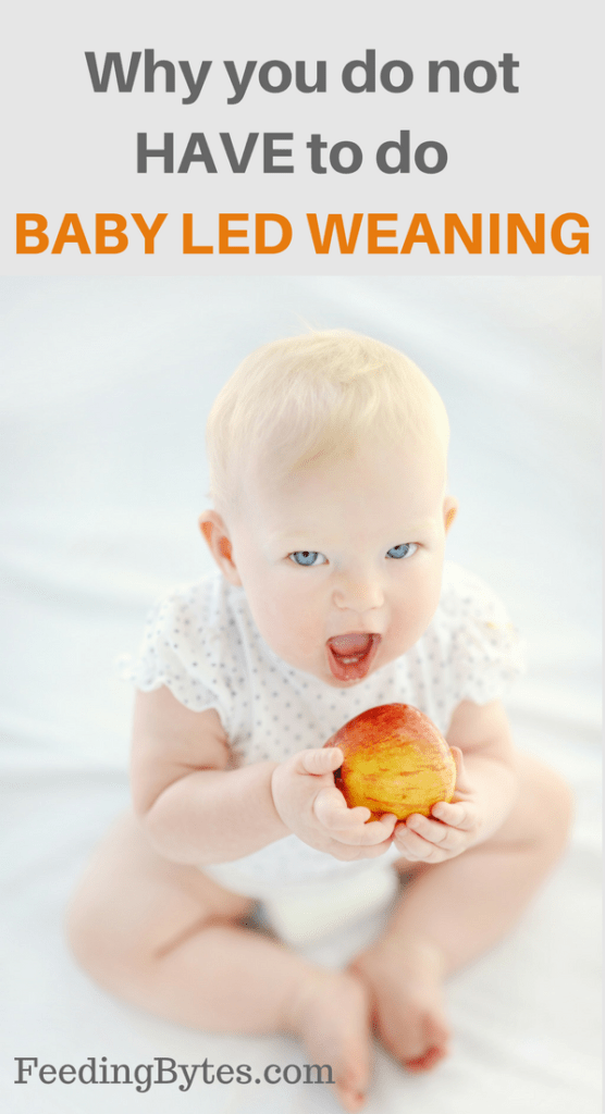 Why you do not have to do Baby Led Weaning