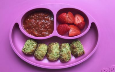 Baby Friendly Broccoli Tater Tots