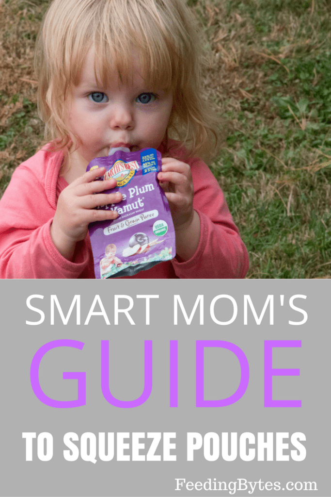 Smart mom's guide to baby squeeze pouches. How to get the most of their convenience and nutrition without getting stuck on them.