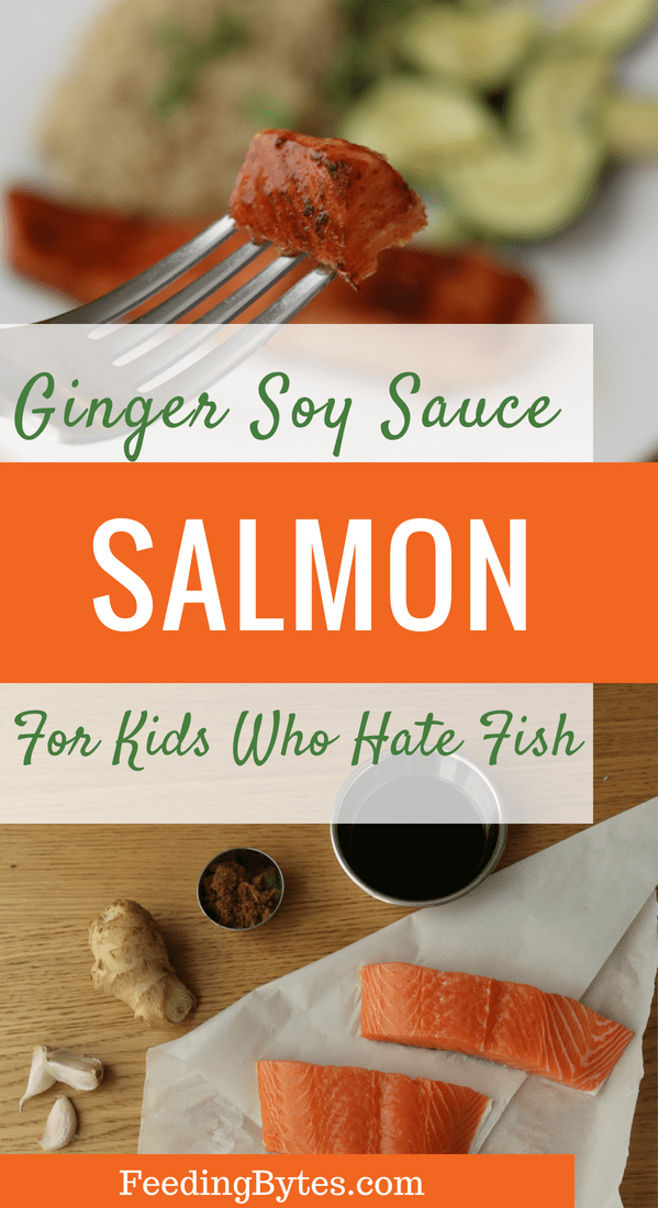 An easy salmon recipe for kids who hate fish