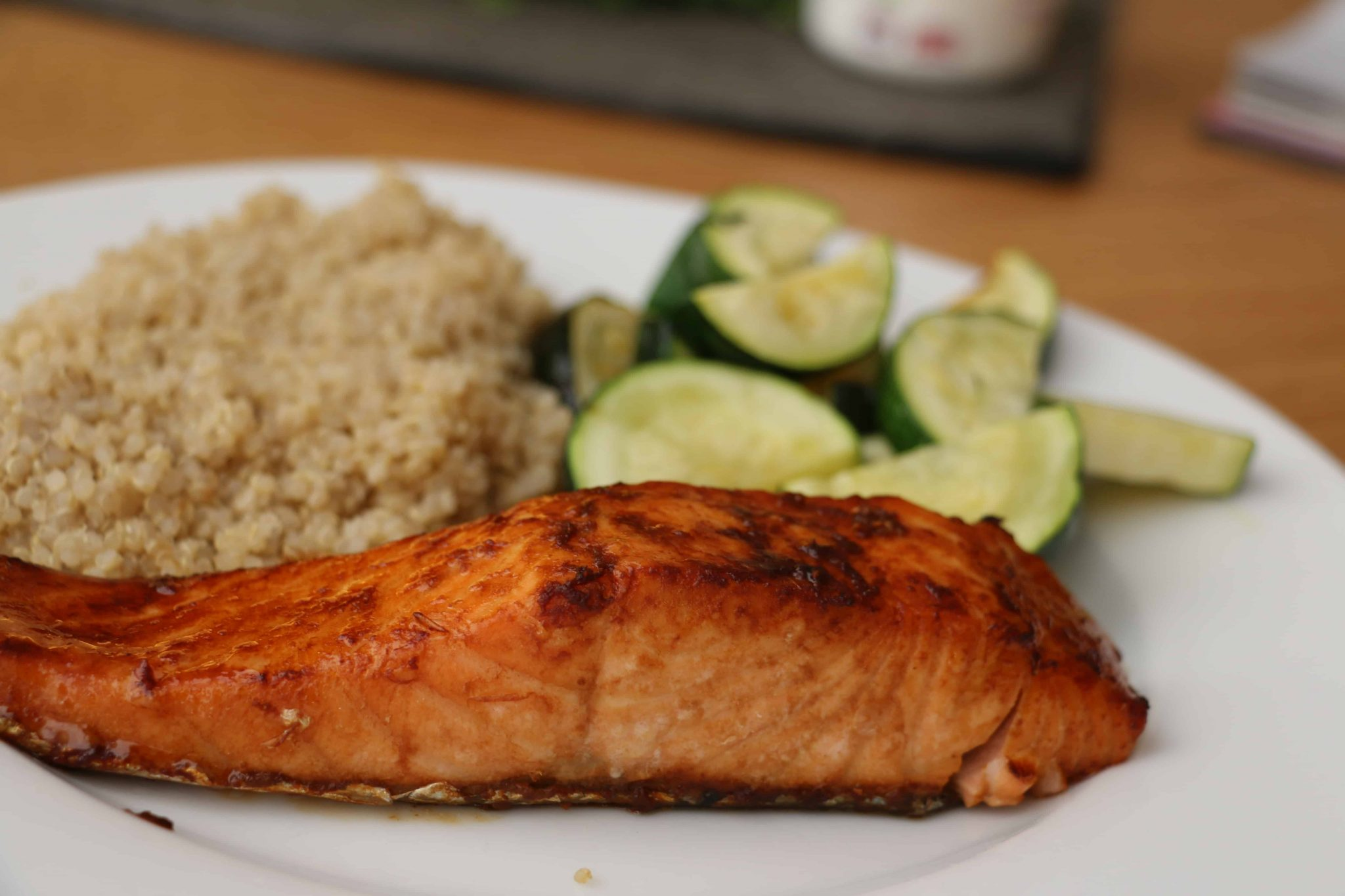 Ginger soy sauce salmon recipe