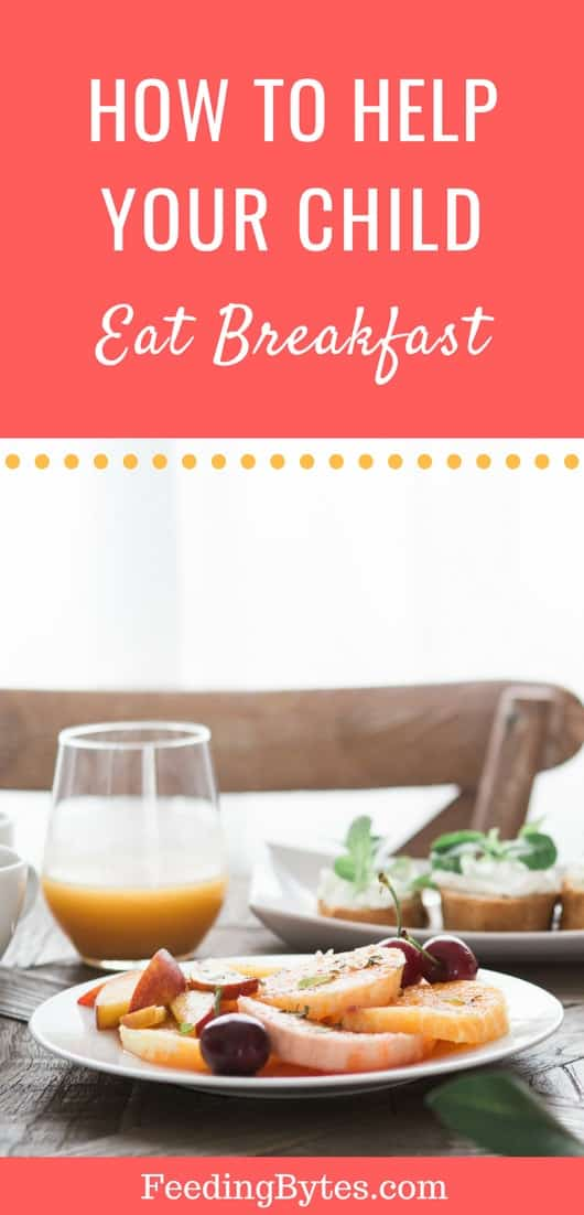 Does your child refuse breakfast every morning? Here are the reasons why kids want to skip breakfast and the steps you can take to help them eat breakfast. From Feeding Bytes.