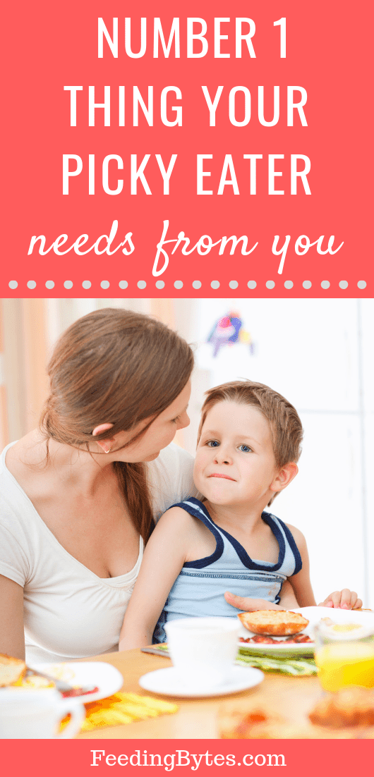 Number 1 thing your picky eater needs from you - Feeding Bytes