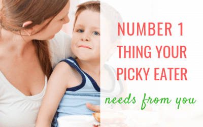 Number 1 thing your picky eater needs from you