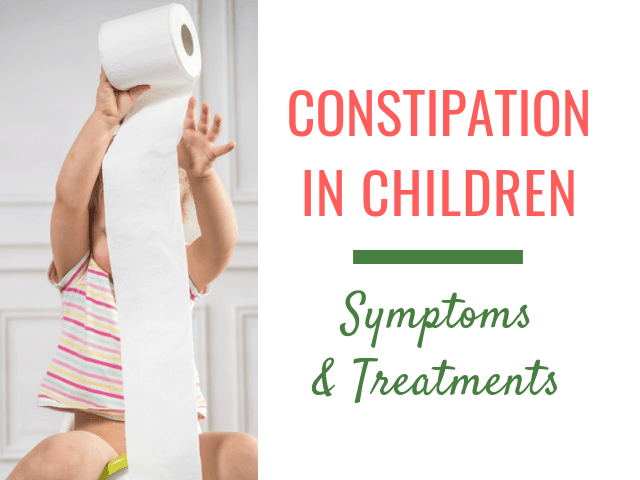 Constipation in children: symptoms and treatment options