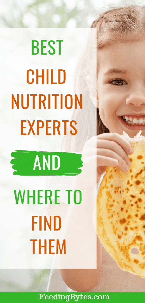 child nutrition experts - how they can help your family