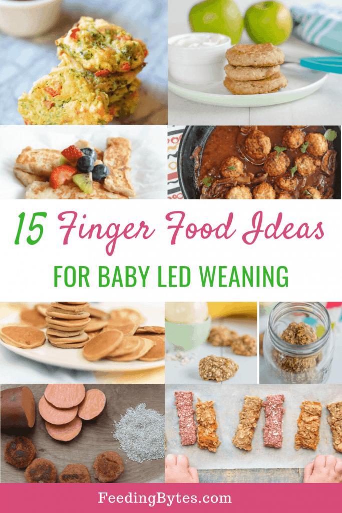 15 finger food recipes for babies - Feeding Bytes