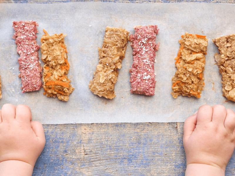 Porridge Fingers - baby finger food recipe