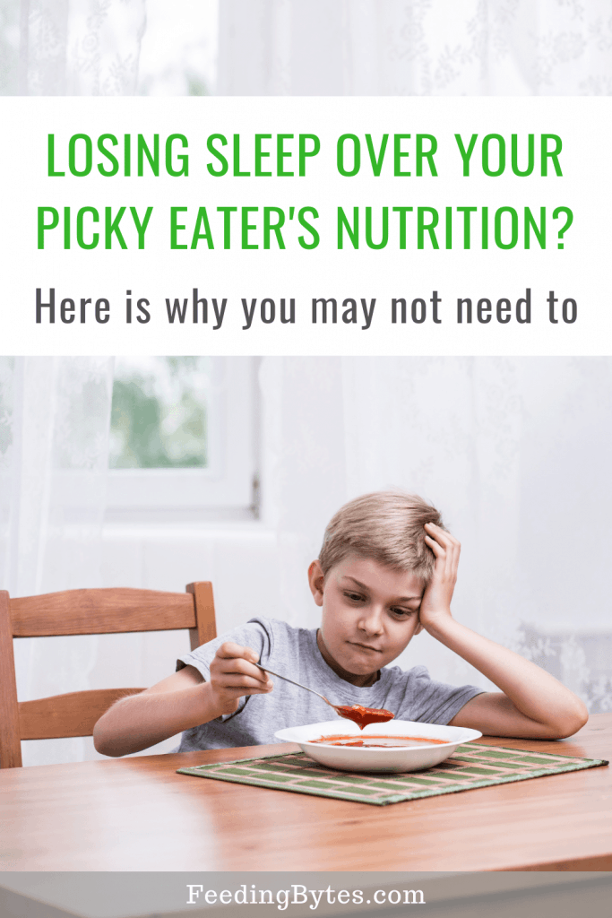 Is your picky eater malnourished? - Feeding Bytes