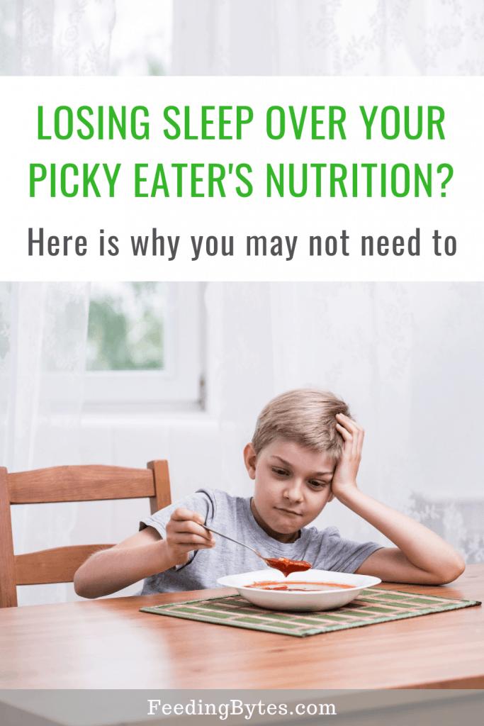 Is your picky eater malnourished? - Feeding Bytes