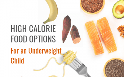 High Calorie Food Options for an Underweight Child
