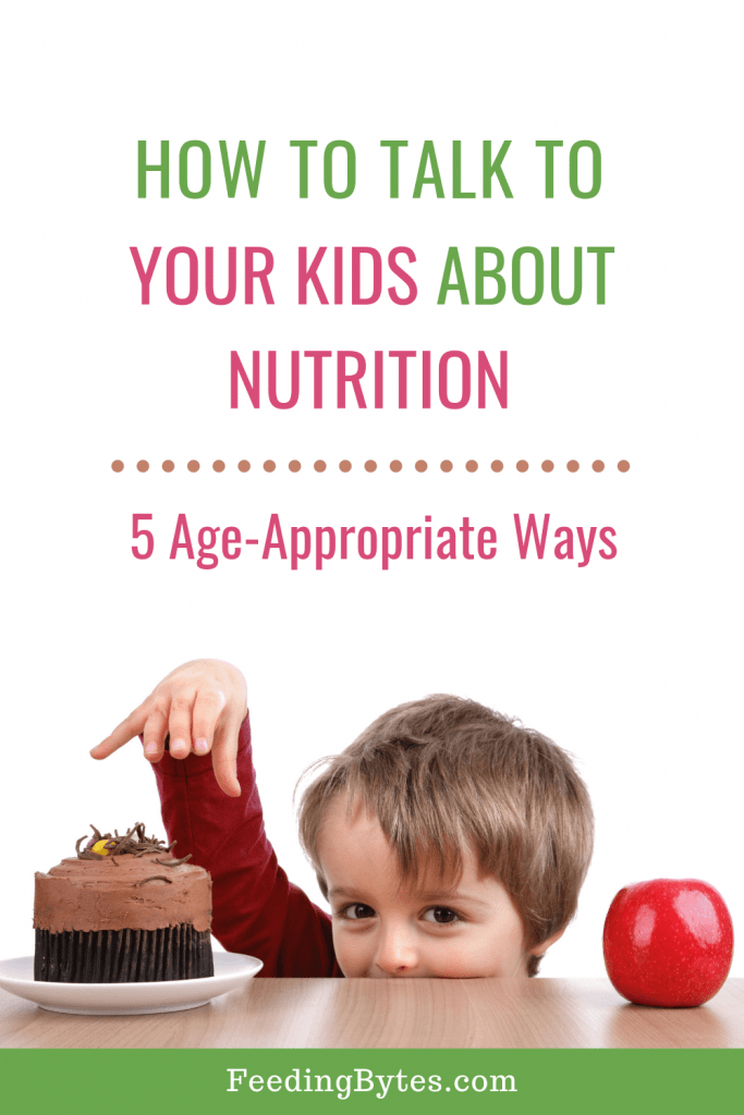 How to Talk to Kids about Nutrition